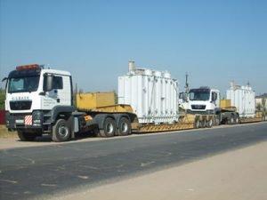 Перевозка энергетического оборудования