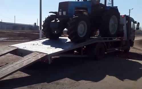 Перевозка автотракторной техники