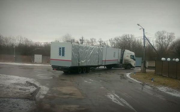 перевозка блок-модулей