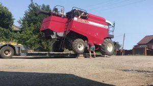 перевозка зерноуборочных комбайнов