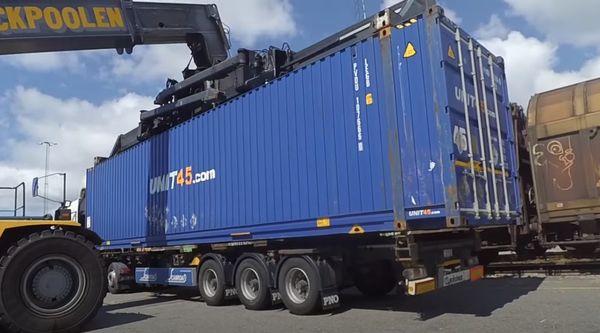 перевозка контейнера автотранспортом