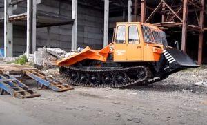 перевозка трелевочного трактора