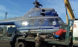 перевозка вертолета автотранспортом