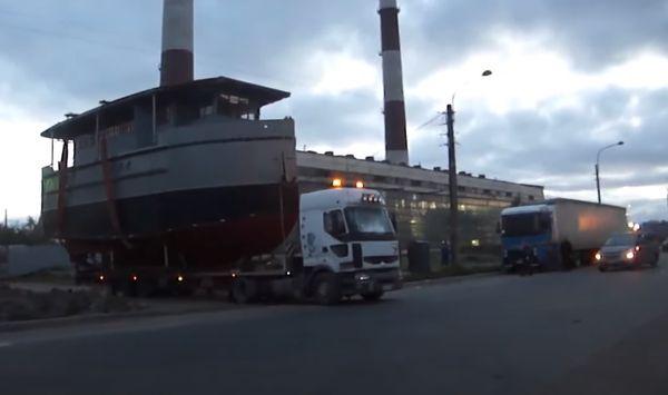 перевозка водной техники
